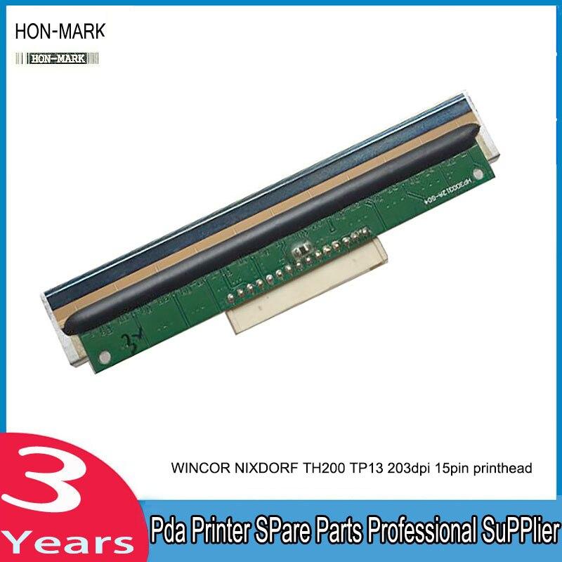HON-MARK New Original TH200 15pins Thermal Print Head For Wincor Nixdorf WINCOR NIXDORF TH200 TP13 203dpi POS Printer  <br>