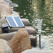 Multi-functional Solar Power Fountain 8W Solar Panel with 4W Submersible Water Pump Kit for Pool Garden Pond Bird Bath Fountain