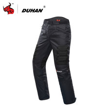 DUHAN Motorcycle Pants Motocross Pants Black Moto Pants Motocross Off-Road Racing Sports Knee Protective Motorcycle Trousers(China)