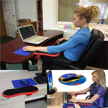 Attachable Armrest Pad Desk Computer Table Arm Support Mouse Pads Arm Wrist Rests Chair Extender Hand Shoulder Protected well