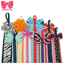New Hot Sale Hair Bow Holder Handmade Quality Hair Bows Hair Clips Whole Sale Kids Hair Acessories 3pcs/lot