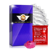 Buy BeiLiLe Pleasure 12pcs 46MM Mini slim Condoms Gift Cock Ring+Tight ring Ultra Small Size Condoms Sex Toy men