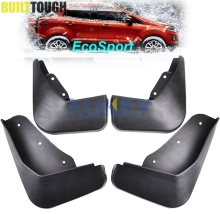 Set Mudflaps Fit for Ford Ecosport 2013-2017 Splash Guards Mud Flaps Front Rear Mudguards Fender Accessories 2014 2015 2016(China)