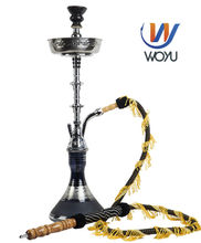 1 set black water shisha pipe smoking glass hookah bar wasserpfeife nargile magic glass bottle imported from China life relax