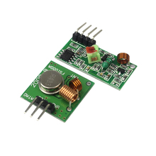 433Mhz RF transmitter and receiver Module link kit For arduino/ARM/MCU WL diy 315MHZ/433MHZ wireless