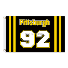92 Players Pittsburgh Pirates Flag World Series Champions Baseball Fan Team Flags Banner 90x150cm Red Yellow Black Banners 100D(China)