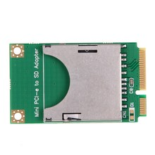 FW1S Practical Mini PCI-E to SD Card Adapter Laptop Computer External Drive