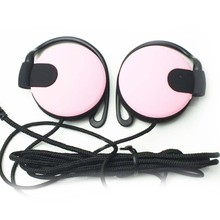 Top Quality Headphones 3.5mm Headset EarHook Earphone For Mp3 Player Computer Mobile Telephone Earphone