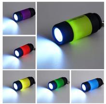 Portable Mini Keychain USB Rechargeable Pocket Torch Flashlight Light Lamp 0.3W Multicolor Mini Flashlight