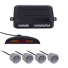 1 Set  7 Colors Sensor Kit Car Auto LED Display 4 Sensors For All Cars Reverse Assistance Backup Radar Monitor Parking System