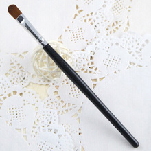 Best Selling One Piece Cosmetic Makeup Tools Blending Eyeshadow Brush Color Black MU-080-BK(China)