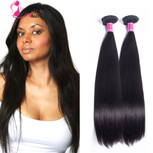 Best Grade 7A Indian Virgin Straight Hair 2pc/lot Natural Black Human Hair Weave For African American Aliexpress Hair Extensions