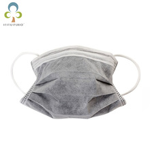 New 10 PCS Disposable Professional Medical Anti Dust Activated Carbon Face Mask(China)