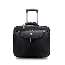 Letrend Business Oxford Rolling Luggage Casters 18 inch Men Multifunction Carry On Wheels Suitcases Trolley Bag Travel Bag Trunk(China)