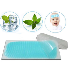 8pcs/2boxes Healthy Pain Relief Physical Cool Patch Baby and Adults Fever Reducing Cool Gel Patch