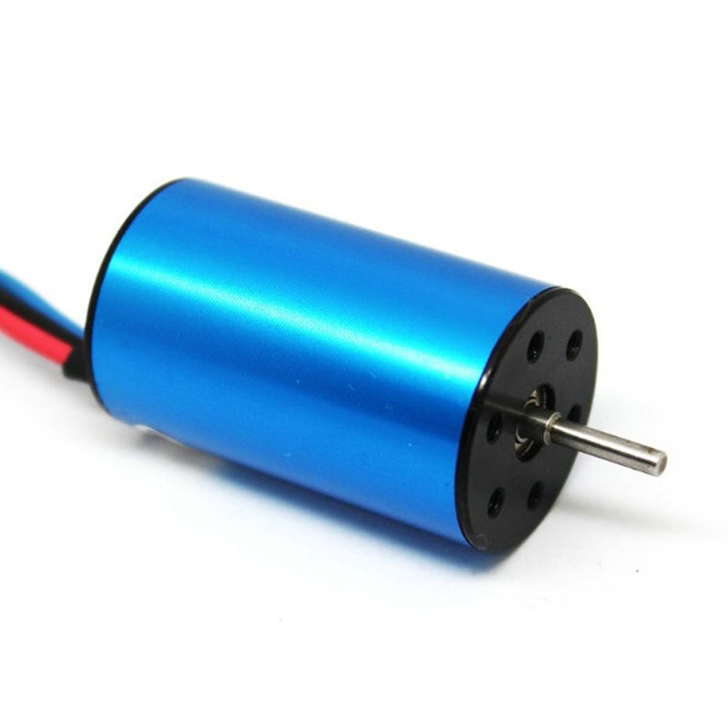 HSP within the 2440 brushless motor 4 pole 1/16 model boat violent motor to provide a variety of optional KV<br><br>Aliexpress