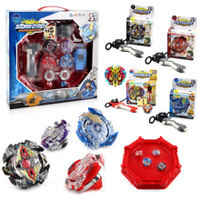 New 4pcs/set Beyblade Arena Spinning Top Metal Fight Beyblad Beyblade Metal Fusion Children Gifts Classic Toys Free Shipping(China)