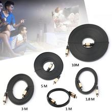 PREMIUM 1M/1.8M/3M/5M/10M HDMI 2.0 CABLE GOLD PLATED 1080P Ultra 2160P With Ethernet 3D 4K FOR DVD PS3 HDTV XBOX LCD HD TV