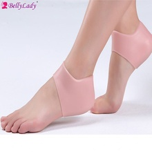 BellyLady Shoe Insoles Rearfoot Heel Protector Invisible Stickers Non-Slip Cushion Foot Heel Protector Liner Shoe Pads(China)