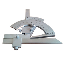 0-320 Stainless Steel Protractor High Precision Goniometer Angle Caliper Gauge Finder Scales Measuring Tool(China)