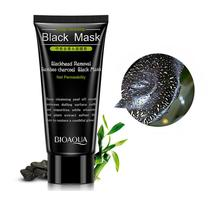 Bioaqua Brand Best Skin Care Black Mud Deep Cleansing Pilaten Blackhead Remover Purifying Peel Face Mask For Dropshipping
