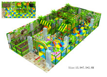 Exported to Turkey Electronic Indoor Play Equipment  Eco-friendly Children Playground Set Indoor 150916-F