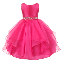 Top Quanlity 3-12yrs Christmas Girls Dress girl princess dress for Party Wedding Dress Girl Clothes For New Year wear Sleeveless