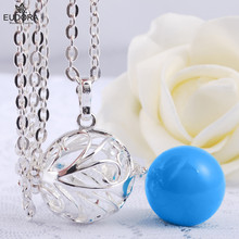 Harmony Leaf Eudora Harmony Ball Necklace Pregnancy Prayer Box Pendant Angel Jewelry Make Soothing Sounds Baby Best Gift