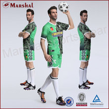 Thai quality material sublimated soccer uniform,custom original football team jersey