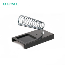ELECALL E-010 Soldering Iron Support Stand Station Metal Base Rectangle Stand Holder Base Support Station Safety Protecting Base