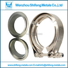 2.0'' VBand clamp with m/f flange.normal V Band clamp with male and female flange kits