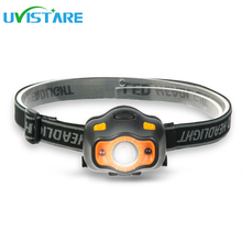 Uvistare G1 MINI Headlamp Automatic Sensor Switch Outdoor Headlight Waterproof Head Lamp Lantern For Hunting Camping No Battery