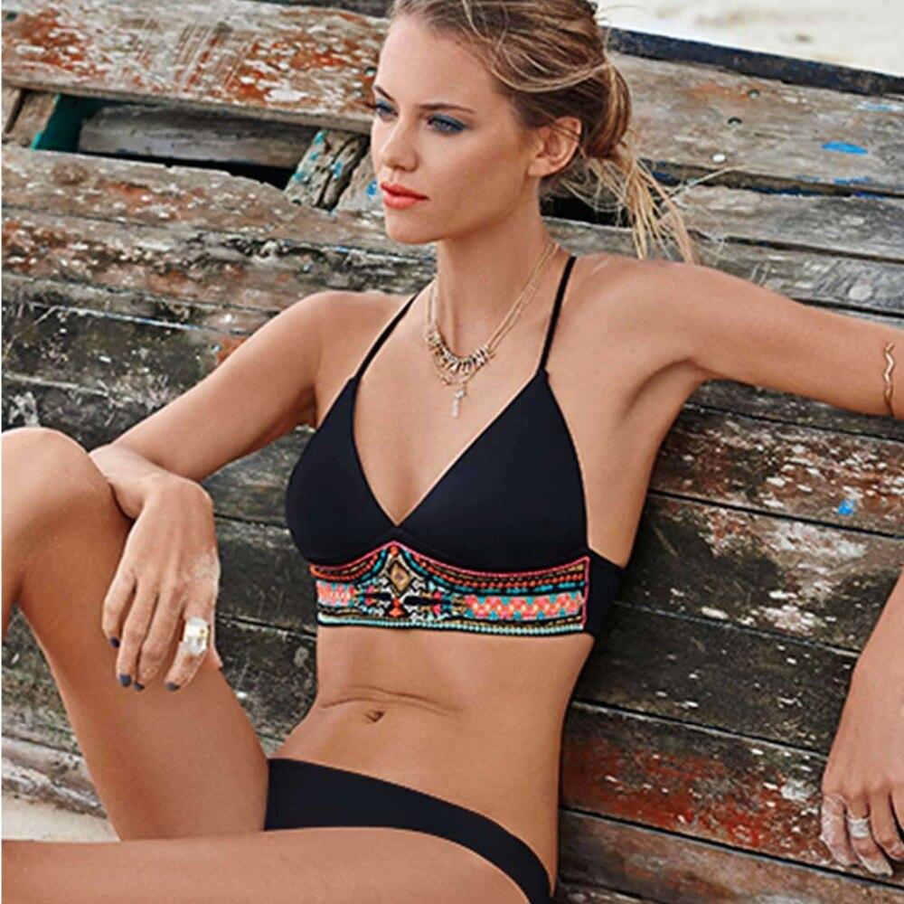 Sexy Black Bikinis White Bikinis Cheap Sexy Bathing Suits Bikini Set Wireless Beach Wear Swim Suit<br><br>Aliexpress