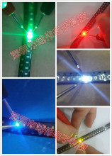 0402 Ultra Bright SMD R G B W Y LEDs 0402 1005 SMD LED White Red Green Blue Yellow 5 Values x100pcs= 500Pcs1.0*0.5*0.4MM