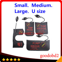 Air Wedge KLOM Pump Wedge Locksmith Tools Auto Lock Pick Set Open Car Door Lock Hardware Tools 4PCS /lot