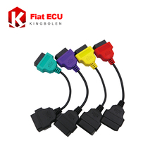 New Cables For Fiat Ecu Scan Adaptor Connect Cable OBD 2 16pin Cable OBD Cable For Fiat Alfa Romeo Four Color (4 Pieces/ Set)