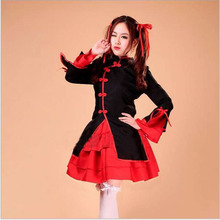 Halloween Costumes Chinese Style Dancer Maid Lolita Outfit COPSLAY Women's Costumes(China)