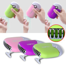 Beau Gel Rechargeable Mini Nail Art Dryer USB with Holder Portable Curing Nail Art Polish Drying Machine Fast Fan Dryer Blower