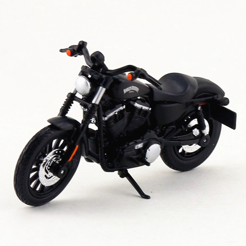 Maisto Harley Davidson Motorcycle Toy, 1:18 Diecast & ABS Motorbike, Simulation Motorcycle Model, Kids Toys, Brinquedos Adults(China)