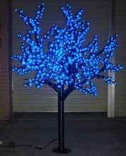 Free ship 1.8M 6ft LED Cherry Blossom Tree Outdoor Garden Pathway Holiday Light Wedding Decor Waterproof Christmas new year deco