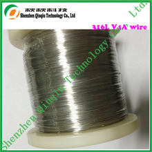Newest Stainless steel 316L wire for Electronic cigarettes  atomizer coils 28ga 1KG/roll free shipping