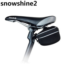 snowshine2 #3522 Outdoor Sport Cycling Bicycle Bike Saddle Pouch Seat Bag Frame Waterproof FREE SHIPPING WHOLESALE(China)
