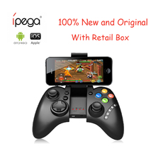 2017 New iPega PG 9021 PG-9021 Wireless Bluetooth Gaming Game Controller Gamepad Joystick for Android IOS PC gamer Gamepad(China)