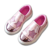 Slip on Lovely children casual shoes Patchwork light breathable footwear girls sneakers hot sales fashion kids shoes toddlers(China)