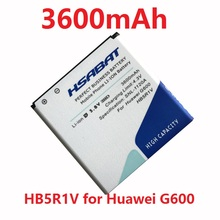 New 3600mAh HB5R1V Battery for Huawei U8950D G500C Honor 3 G600 C8826D T8950D U9508