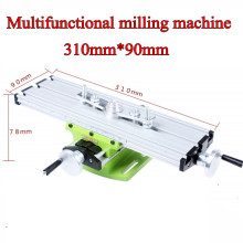 multifunction mini table bench vise bench drill milling machine stent BG6300 aluminum alloy precision 0.05mm