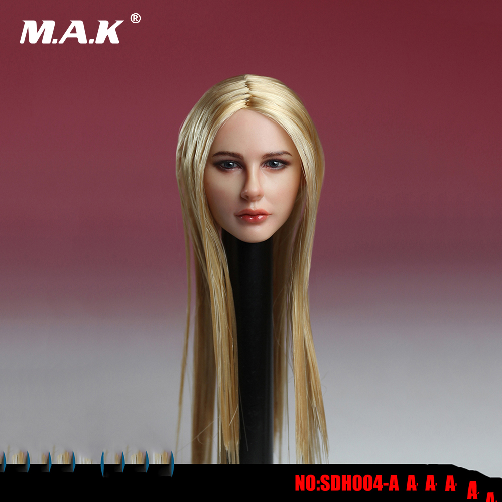 1/6 Scale European Womens Head Avril Head Sculpt Models for 12 Inches Figures Bodies Dolls<br>