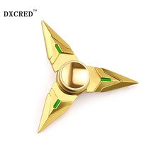 hand spinner fidget spinner for Autism and ADHD fidget hand spinner bearing ball golden zinc alloy Fidget Spinner