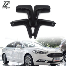 ZD Car Front Rear Mudguards For 2013 2014 2015 2016 2017 Ford Fusion Mondeo Molded Accessories Mudflaps Car-styling 1Set Fenders(China)