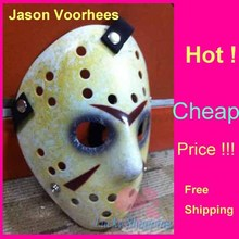 Black Friday NO.13 Jason Voorhees Freddy hockey Festival Party Full Face Old Mask 100gram PVC Masks For Halloween 50pcs/lot